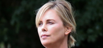 Did Charlize Theron gain a lot of weight for 'Tully' or is she wearing padding?