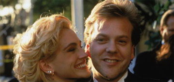 Kiefer Sutherland on Julia Roberts leaving him at the altar: 'that took courage'