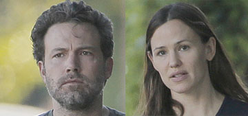 ITW: Ben Affleck told Jennifer Garner he wanted to go through with the divorce