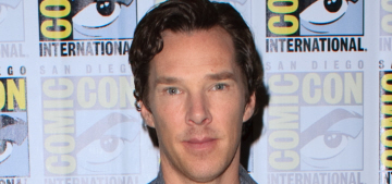Benedict Cumberbatch sang 'Comfortably Numb' on stage with Pink Floyd
