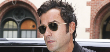 Justin Theroux: 'I refuse to wear shorts', it's not 'a good look on anybody'