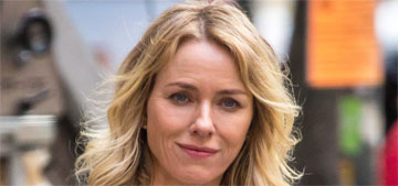 Naomi Watts celebrated her birthday as a single lady, with cake pops