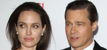 Brad Pitt & Angelina Jolie are negotiating (update: temporary custody agreement)
