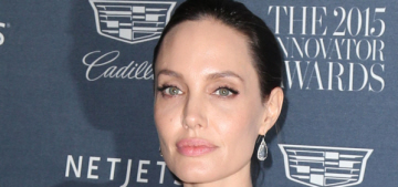 Angelina Jolie bolted in the night to a cheaper rental near the Kardashians