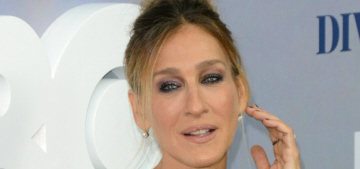 Sarah Jessica Parker in a rhinestone'd Dolce & Gabbana: awful, cheap or fine?