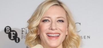 """Cate Blanchett's Gucci dress has some next-level shoulder ruffles"" links"