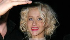 Christina Aguilera is wasted