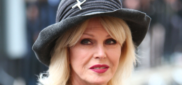 Joanna Lumley: being catcalled on the street is not offensive, 'it's a compliment'