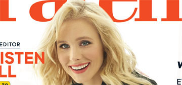 Kristen Bell: 'It's usually the meat eater who wants to guilt-trip the vegetarian'
