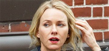 Star: Naomi Watts left Liev Schreiber over fears that he was cheating