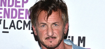 Sean Penn actually had a girlfriend when he started up with Leila George