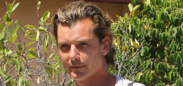 Gavin Rossdale wants people to stop talking about his split with Gwen Stefani