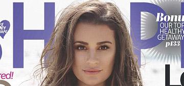 Lea Michele covers Shape: 'I constantly set goals, then I achieve them'