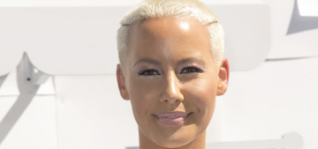 Amber Rose wishes she could masturbate every day for glowing skin