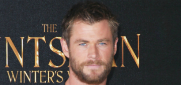 Chris Hemsworth paints his nails for #PolishedMan Challenge