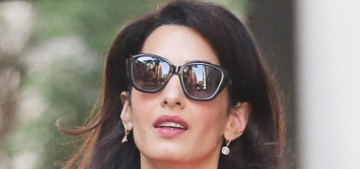 NY Post: Amal Clooney was rude & 'threw a tantrum' in a UN meeting