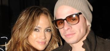 Jennifer Lopez dumped Casper Smart in August after he cheated on her, again