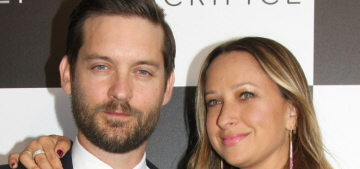 Tobey Maguire & Jennifer Meyer are divorcing after 9 years of marriage