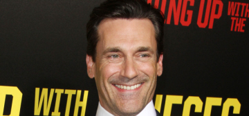 Jon Hamm to old white dudes in politics: You still run things, 'it's still a thing'