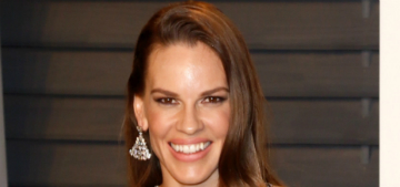 Hilary Swank was offered 1/20th of male costar's salary after two Oscars