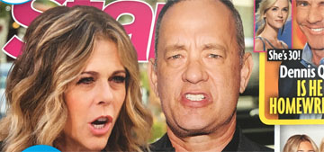 Tom Hanks & Rita Wilson get apologies from tabloids: 'our marriage is sacred'