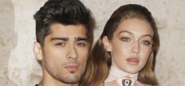 Gigi Hadid called her half-Pakistani boyfriend Zayn Malik 'half Middle-Eastern'