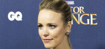Rachel McAdams in tulle Elie Saab at the UK 'Strange' premiere: fab or fug?