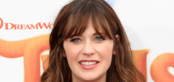 Zooey Deschanel wasn't allowed to board early on a plane with her infant