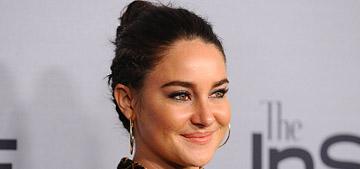 Shailene Woodley's half bun double braid at InStyle Awards: Pinterest worthy?