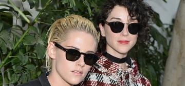 Kristen Stewart & St. Vincent make their love official at a CFDA Vogue event