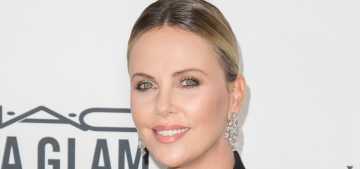 Charlize Theron on her 30-pound weight gain: 'Yes, I am very fat right now'