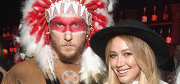 Hilary Duff's boyfriend 'dressed up' like a Native American for Halloween