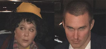 Amy Schumer and bf dressed as Stranger Things characters for Halloween