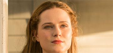 Evan Rachel Wood: working with Anthony Hopkins 'like watching Da Vinci paint'