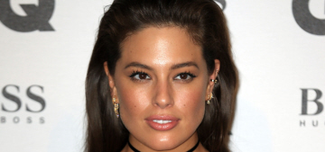 Ashley Graham gives the 'middle finger' to critics: 'Guess what? I'm really hot'