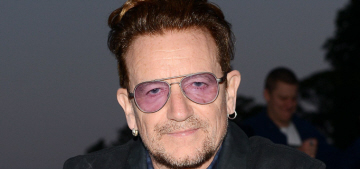 Bono: 'Gender equality can't be won unless men lead it along with women'