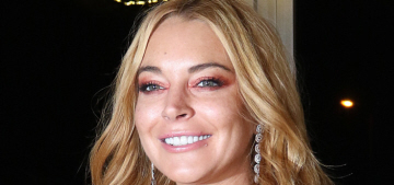 Lindsay Lohan is speaking in a bizarre, unidentifiable accent these days
