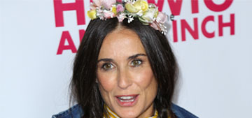 Enquirer: Demi Moore treats her skin with Peruvian goat blood at $100k a ml