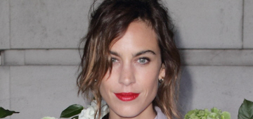 Hm, did Alexa Chung & Alexander Skarsgard break up a few months ago?