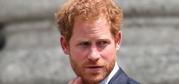 Prince Harry was dating a British model when he started up with Meghan Markle