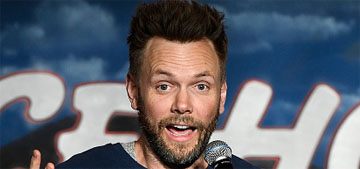 Joel McHale on actors complaining: 'How many other people's jobs have catering?'