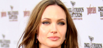 Angelina Jolie's side says Brad won't get custody 'until he gets his sh-t together'