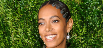 Was Solange Knowles the best-dressed person at the CFDA Awards?  Yes.