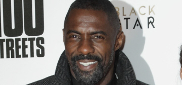 Idris Elba was apparently getting flirty with model Jourdan Dunn at the EMAs