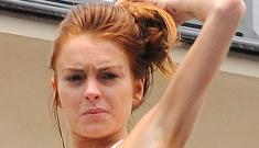 Lindsay Lohan gets a job!