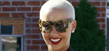 Amber Rose was dragged for allowing her 3-year-old son to get a manicure