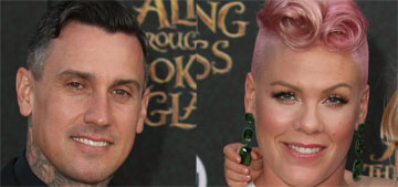 Pink announces that she's pregnant with her second child