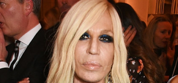 Donatella Versace: Gay, male designers 'design for the woman they want to be'
