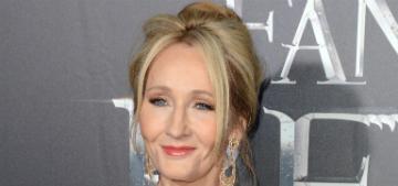JK Rowling talks up Johnny Depp in Fantastic Beasts sequel