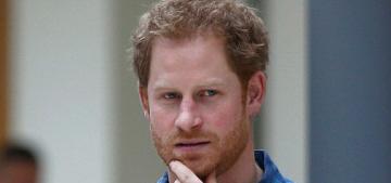 Prince Harry & Meghan Markle are still wearing matching, loved-up bracelets